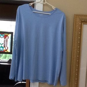 Pretty soft knit long sleeved tee